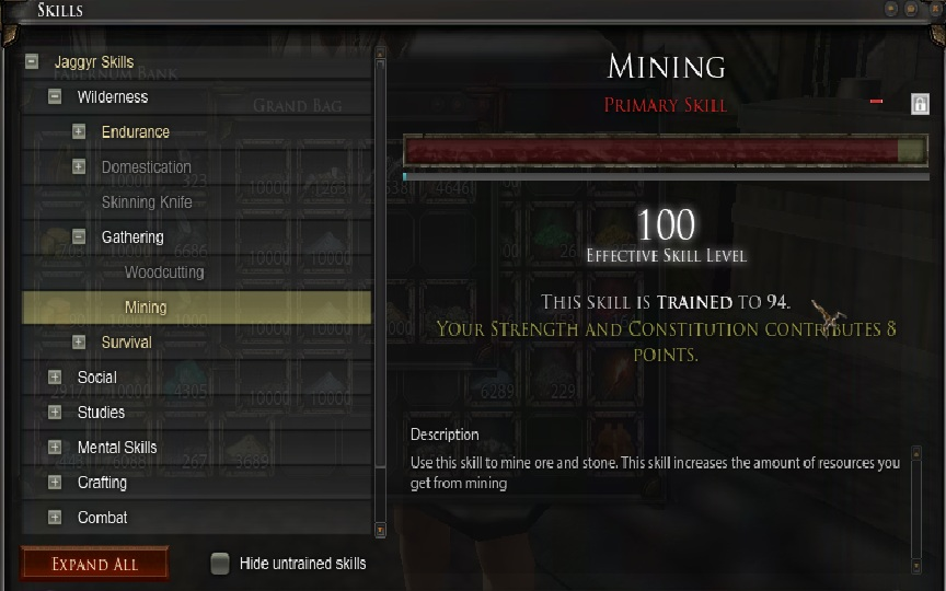 Vynn s guide to being a miner up to tungsteel with optional fabricula